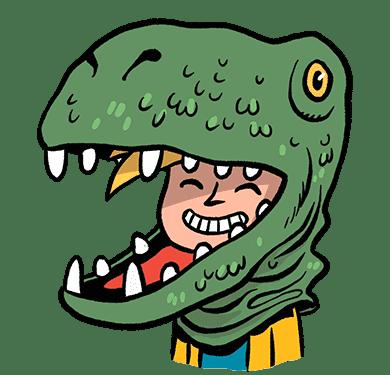 Nino La découverte des dinosaures