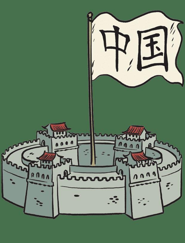 Carte La Grande Muraille de Chine