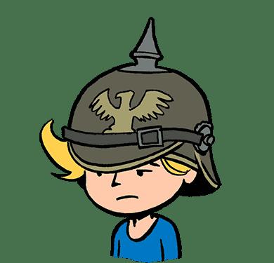 Nino La guerre des tranchées