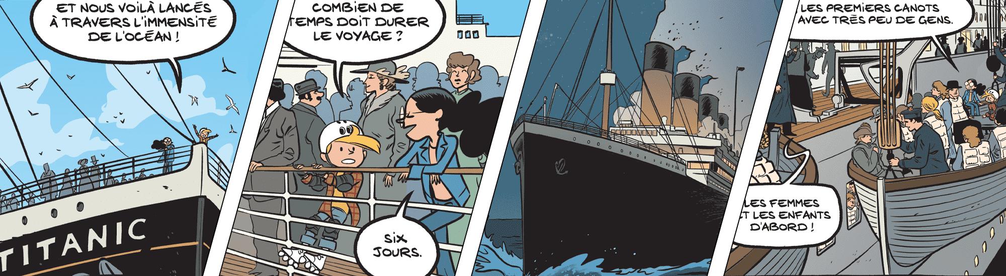 Image Embarquez sur le Titanic en première classe ! class=