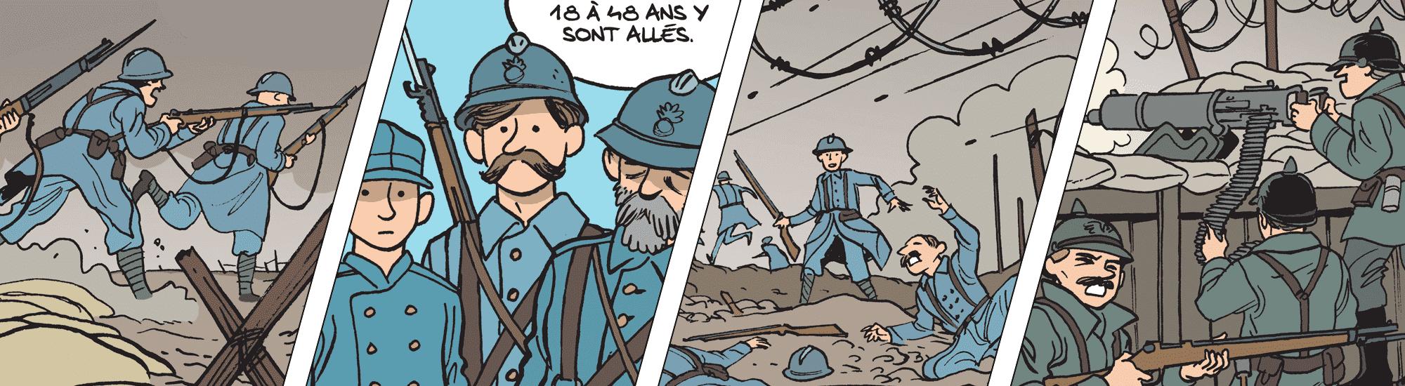 Image Les tranchées, ou l'horreur de la guerre au quotidien class=